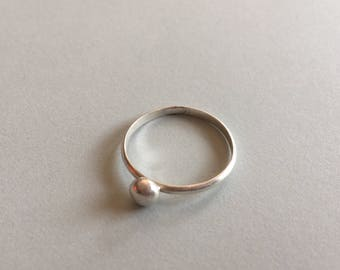 Pebble Ring - Sterling Silver