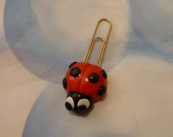Lady Bug Bookmark