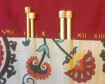Pennsylvania Dutch Knitting Needle Case