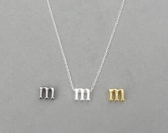 Initial m Necklaces 373