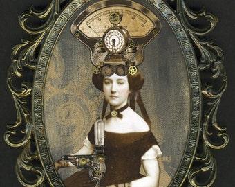 Steampunk Civil War Portrait: Adelaide Tarelton