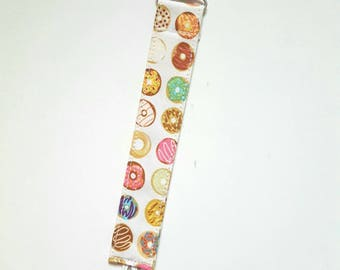 Mini Donuts - passy clip/pacifier leash/bandana bib set or single