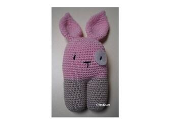 Bunny crochet amigurumi Ydekado