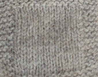 sport weight yarn: Light Gray Sheep 2 ply Sport Weight soft  wool yarn undyed skein farm yarn