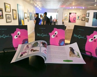 The Fearless Art of Mike Gabriel Book
