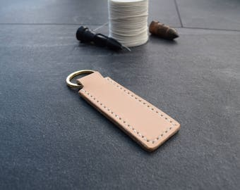 Handmade Leather Keyring/ Leather Keychain/ Leather key holder