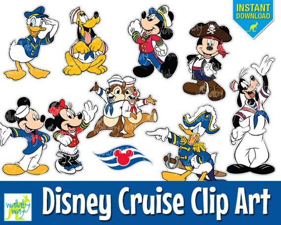 disney cruise digital clip art with mickey minnie donald rh etsy com disney cruise clip art tont print disney cruise clip art tont print