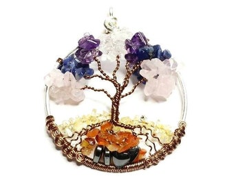 Chakra Tree of Life Custom Made to Order