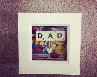 Dad Mini Frame perfect litte gift for birthday, xmas etc