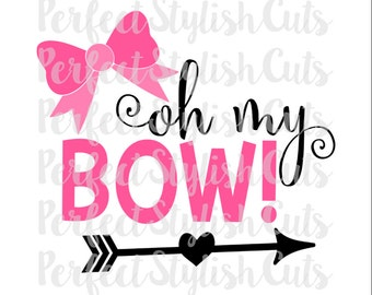 Oh My Bow Svg, Cheerleading Svg, Mouse Svg, Cheer Bow Svg, Instant Download, Popular Svg, Svg Sayings, Girl Svg, Vacation Svg, Dance Svg