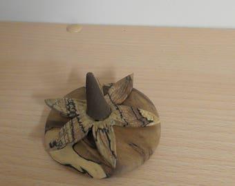 hand carved incense holder