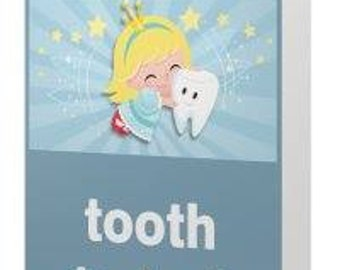 Childs Lost tooth, tooth fairy card, lost tooth card, Tooth fairy
