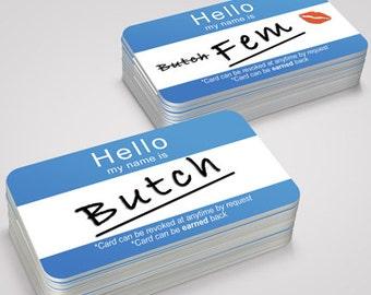 Butch Card Game