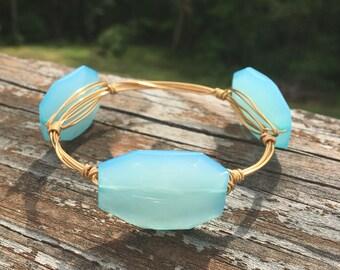 Bangle stack bracelets