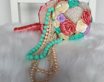 Country Garden/ Wedding Bouquet / Artificial Bouquet / Artificial Wedding Bouquet / Flowers for Weddings / Brides Bouquet/