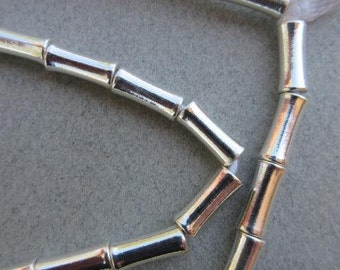 Silver Spacer Beads (5x12mm) [64814]