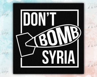 Don't Bomb Syria Patch