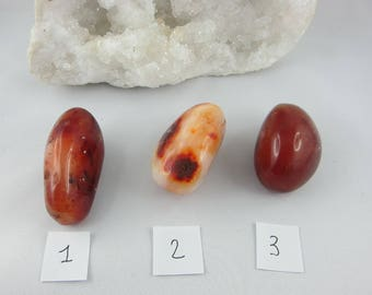 Carnelian stones.