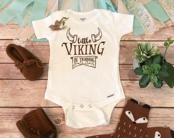 Viking Onesie®, Baby Boy Clothes, Baby Shower GIft, Cute Baby Clothes, Beard Onesie, Funny Onesie, Dad Onesie, Beard Baby Onesie,In Training