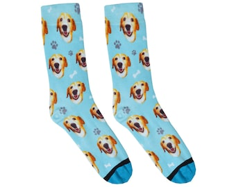 Custom Dog Socks - Put Your Dog on a Sock!