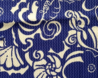 "spectrum blue tide pools jacquard cotton fabric square 18""x18"" ~ lilly summer 2014 ~ lilly pulitzer"