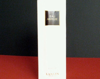 Vintage Lanvin Eau Arpege Perfume 120ml, Made in France -- NEW IN BOX!