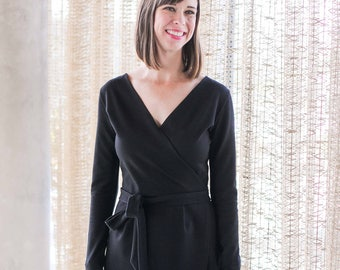 Tall Faux Wrap Dress
