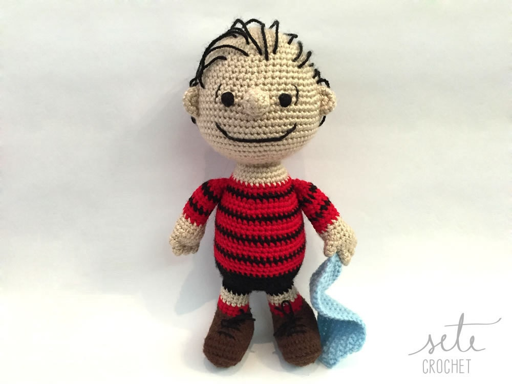 Special Bundle Amigurumi Crochet Pattern Charlie Brown Linus