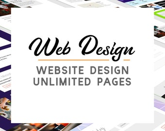 Wordpress Web Design - Custom Divi Business Site - Responsive Website