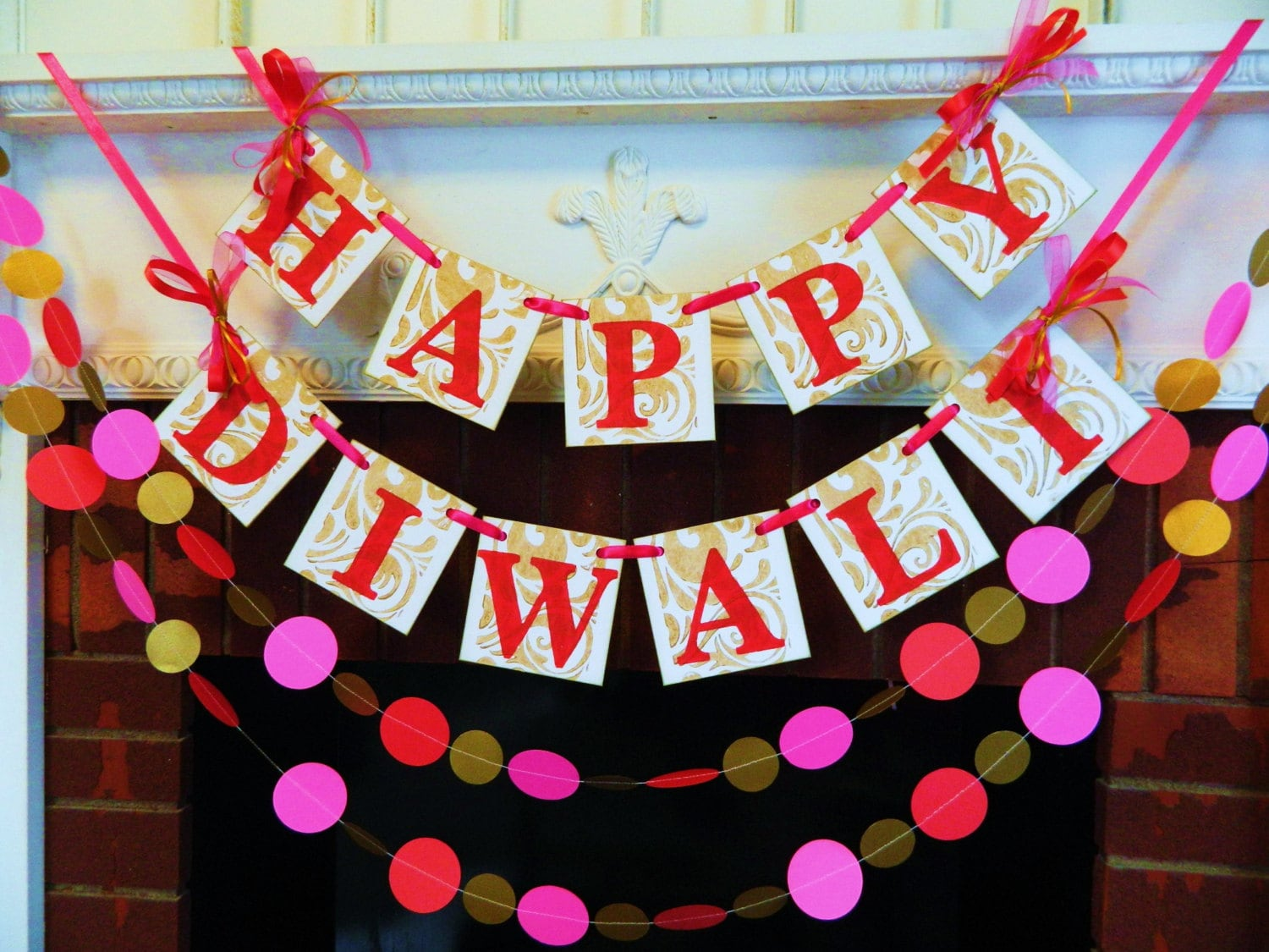 Diwali decorations happy diwali banner festival of lights zoom kristyandbryce Image collections