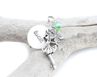 Good Luck Dance Zipper Pull, Dance Recital Gifts, Ballerina Bag Charm, Ballerina Gift, Zipper Charm