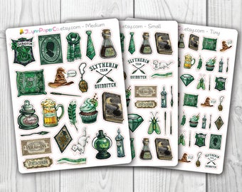 Green House Wizard Stickers