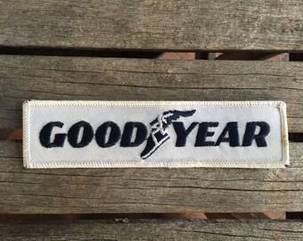 Goodyear Work Shirt Uniform Patch.