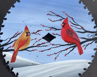 Cardinals and Snow