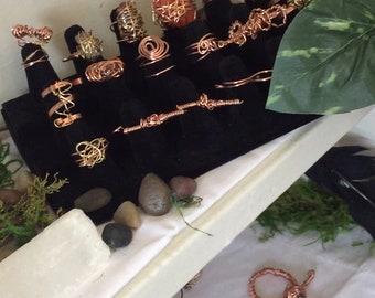 Crystal Healing Rings