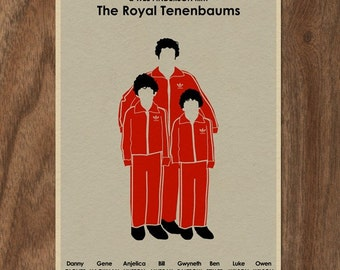 THE ROYAL TENENBAUMS Limited Edition Movie Print