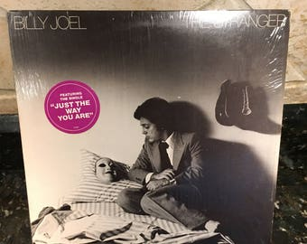 "Billy Joel ""The Stranger"" Vintage Vinyl Record LP Old Stock Pressing - Free Shipping"