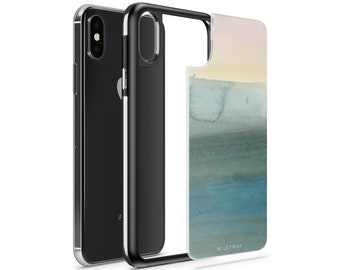 iPhone X, iPhone 8, iPhone 8 Plus Interchangeable Full Protection Slim Slate Milkyway Cases - Winter Sunrise