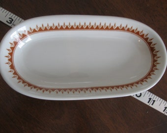 Sterling China, Wellsville, OH, Butter or Celery Dish