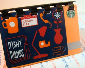 Starbucks upCycled Gift Card Notebook -    ADMIN's DAY