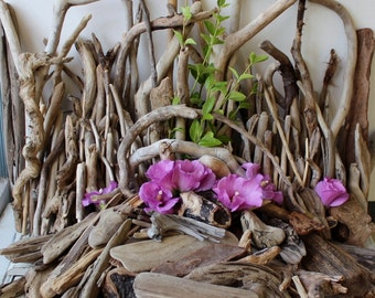 Variety of 200 Driftwood Pieces for Beach Wedding Centerpieces ,Table Decoration & Event Decor