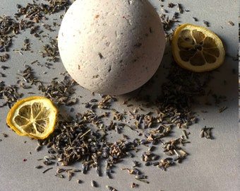 Lavender Lemon Bath Bomb