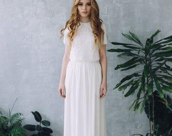 Dress SS17 | Wedding dress Boho wedding dress Romantic Wedding Dress vintage wedding dress elegant wedding gown