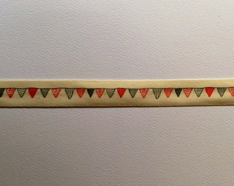 Bunting ribbon - linen