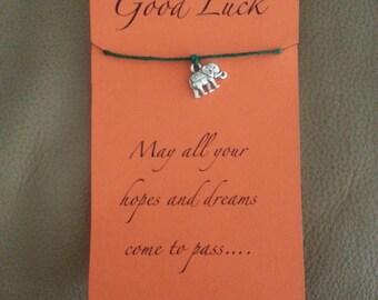 Good Luck Elephant Bracelet