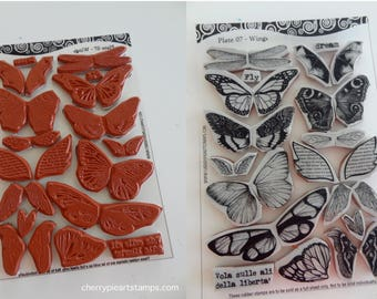 Cushioning Service for One Sheet (set) of Cherry Pie Rubber Stamps