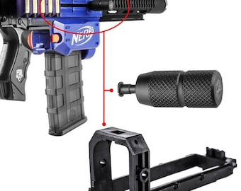 Worker MOD Bolt & Striker Modified Kit Pull Grip for Nerf Retaliator  Blaster Toy