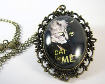 Necklace Cat like me (original)