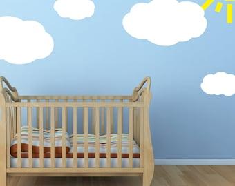 Cloud Wall Sticker Set
