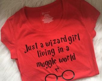 Harry Potter Shirt Tshirt Tee Wizard Girl I solemnly swear I am up to no good Kids Girls Boys Men Women Gift Birthday